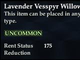 Lavender Vesspyr Willow