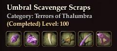 Umbral Scavenger Scraps