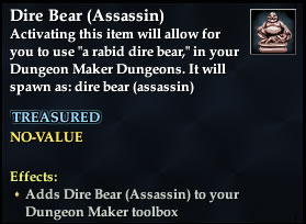 Dire Bear (Assassin)
