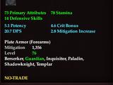 Executioner's Adamantine Bracers of Dominance