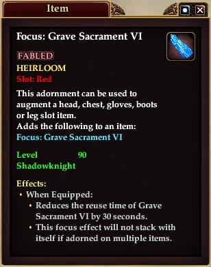 Focus: Grave Sacrament VI