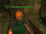 A Tunarian bearmaster