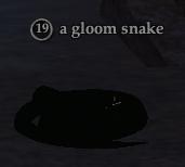 A gloom snake