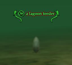 A lagoon feeder