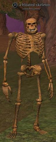 A bloated skeleton
