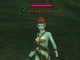 A warped nymph