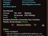 Charred Greataxe of Elemental Essence