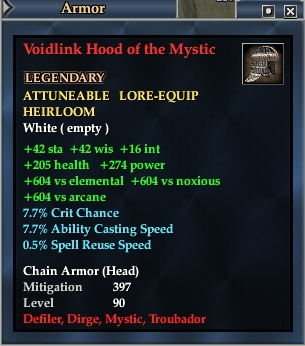 Voidlink Hood of the Mystic