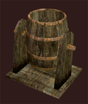 Blackburrow Rocking Barrel