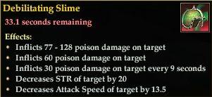 Debilitating Slime