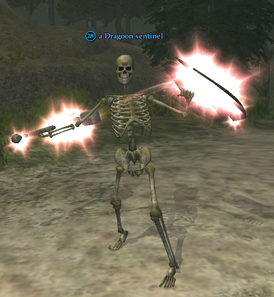 A Dragoon sentinel