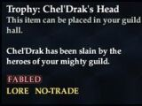 Trophy: Chel'Drak's Head