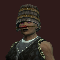 Aged Patchcraft Keeper Helm