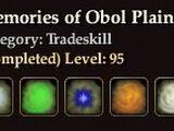 Memories of Obol Plains