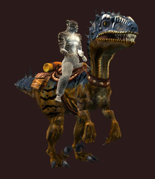 Horned Mountain Saliraptor