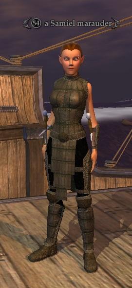 A Samiel marauder (Samiel Pirate Ship)