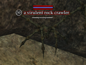 A virulent rock crawler (Sundered Splitpaw: Gladiator's Triumph)