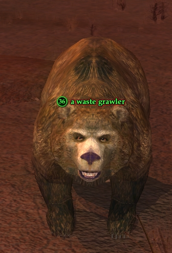 A waste grawler
