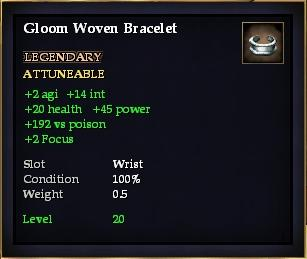 Gloom Woven Bracelet