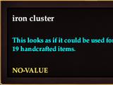 Iron cluster