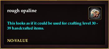 Rough opaline (Crate Reward)