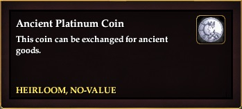 Ancient Platinum Coin
