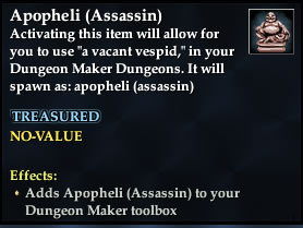 Apopheli (Assassin)