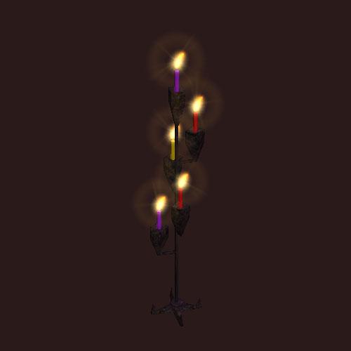 An enchanters candelabra
