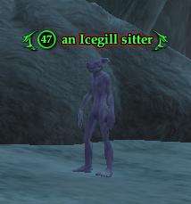 An Icegill sitter