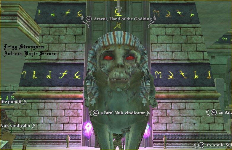 Arazul, Hand of the Godking