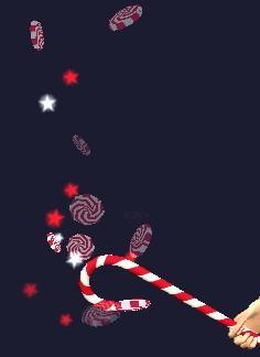 Candycane Staff