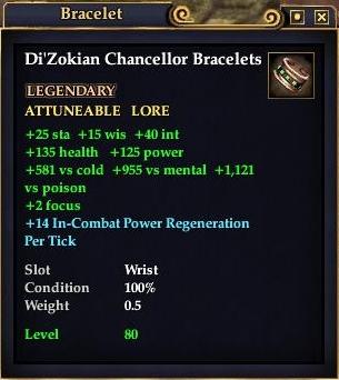 Di'Zokian Chancellor Bracelets (Version 1)
