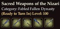 Sacred Weapons of the Nizari