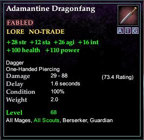 Adamantine Dragonfang
