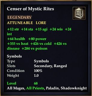 Censer of Mystic Rites