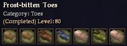 Frost-bitten Toes