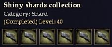 Shiny shards collection