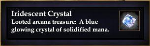 Iridescent Crystal