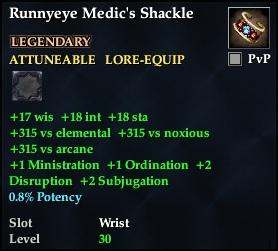 Runnyeye Medic's Shackle
