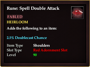 Rune: Spell Double Attack