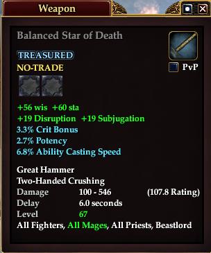 Balanced Star of Death