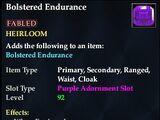 Bolstered Endurance