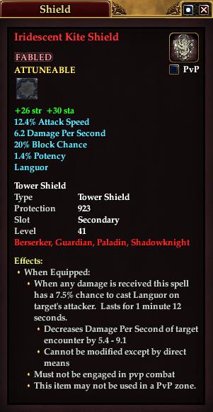 Iridescent Kite Shield
