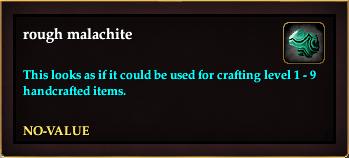 Rough malachite (Crate Reward)