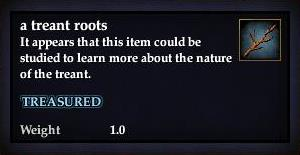 A treant roots
