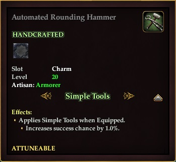 Automated Rounding Hammer