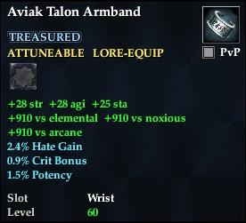 Aviak Talon Armband