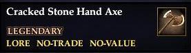 Cracked Stone Hand Axe