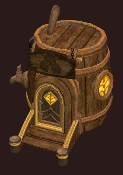 Locked Barrel Room