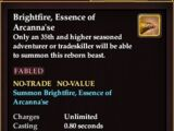 Brightfire, Essence of Arcanna'se (Mount)